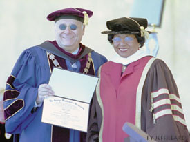 Ruth Simmons Receives Honorary Degree from George Washington University, 2002